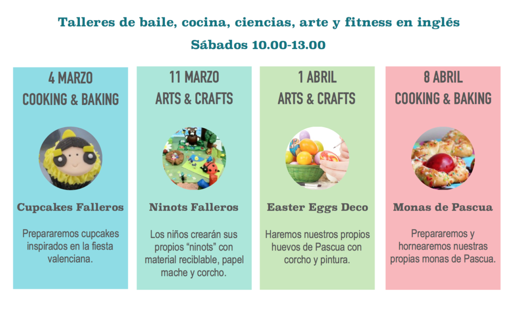 WORKSHOPS MARZO ABRIL