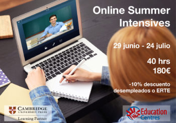 Intensive Courses – adults & teens